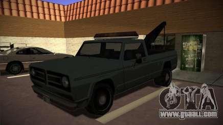Sadler tow truck for GTA San Andreas