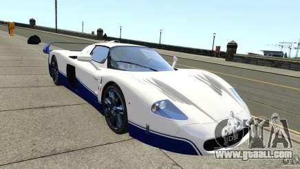 Maserati MC12 for GTA 4