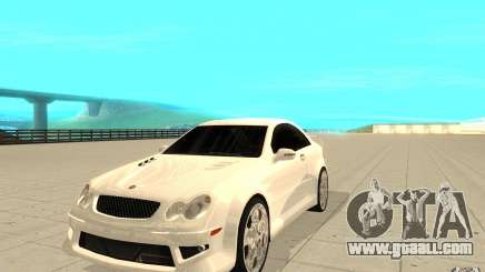 Mercedes-Benz CLK 500 Kompressor for GTA San Andreas