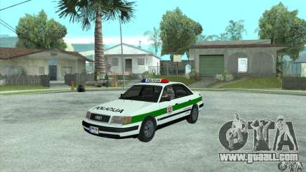 Audi 100 C4 (Cop) for GTA San Andreas