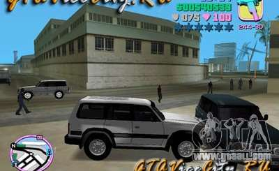 Toyota LAND CRUISER 80 for GTA Vice City