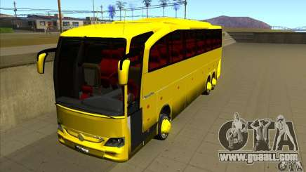Mercedes-Benz Travego жёлтый for GTA San Andreas