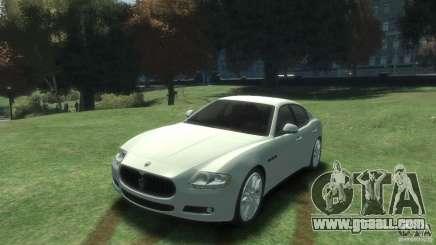 Maserati Quattroporte for GTA 4