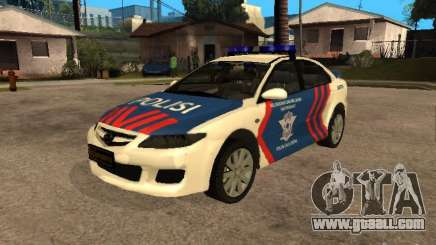 Mazda 6 Police Indonesia for GTA San Andreas
