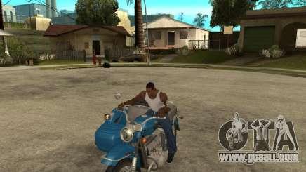 Ural Tourist sidecar for GTA San Andreas