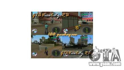 100 hidden packages of GTA Vice City for GTA Vice City
