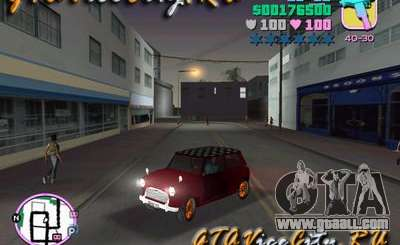 Austin Mini v1.1 for GTA Vice City