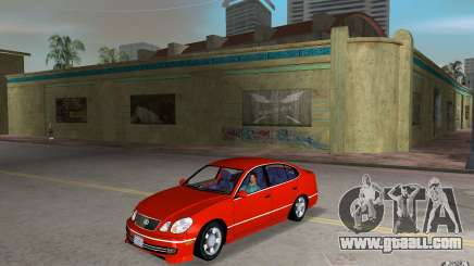 Lexus GS430 for GTA Vice City