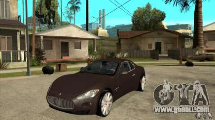 Maserati Gran Turismo for GTA San Andreas