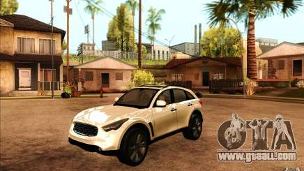 Infiniti FX50 Beta for GTA San Andreas
