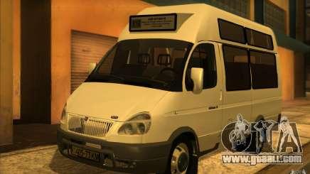 Gazelle SPV-16 Rue for GTA San Andreas