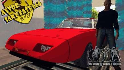 Dodge Charger Daytona Forsazh 6 for GTA San Andreas