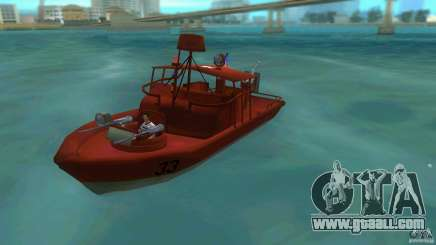 Patrol Boat River Mark 2 (Player_At_Guns) for GTA Vice City