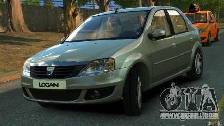 Dacia Logan 2008 for GTA 4