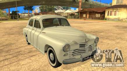 GAZ M20 Pobeda 1949 for GTA San Andreas