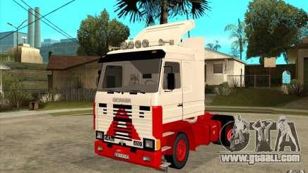 Scania 143M 450 V8 for GTA San Andreas