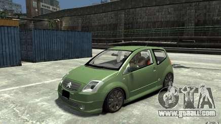 Citroen C2 for GTA 4