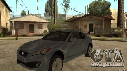 Hyundai Genesis Coupe 2010 for GTA San Andreas