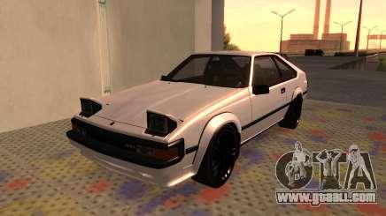 Toyota Celica Supra 2JZ-GTE 1984 for GTA San Andreas