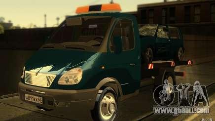 3302-Gazelle 14 tow truck for GTA San Andreas