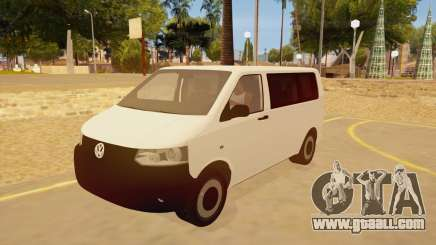 Volkswagen Transporter T5 Facelift 2011 for GTA San Andreas