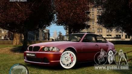 BMW 320i E46 v1.0 for GTA 4