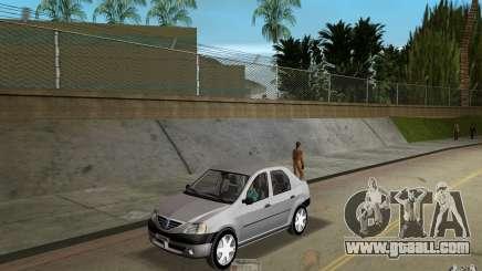 Dacia Logan 1.6 MPI for GTA Vice City