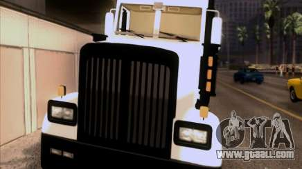 Western Star 4900EX skin 1 for GTA San Andreas