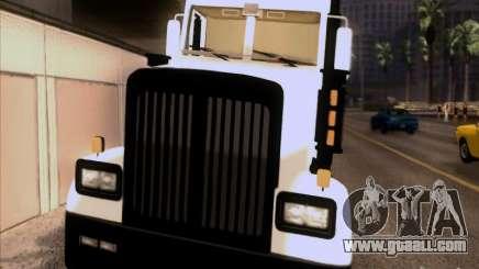 Western Star 4900EX skin 1 for GTA San Andreas