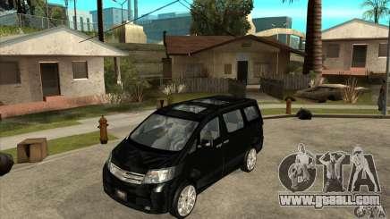 Toyota Alphard Hybrid for GTA San Andreas