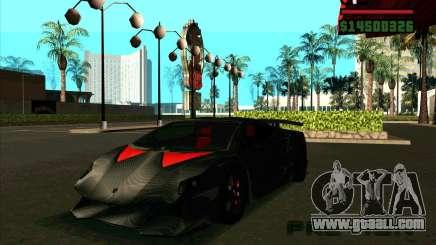 Lamborghini Sesto Elemento for GTA San Andreas