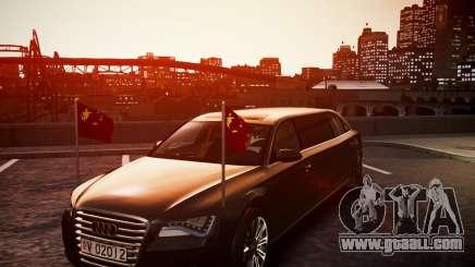 Audi A8 Limo for GTA 4