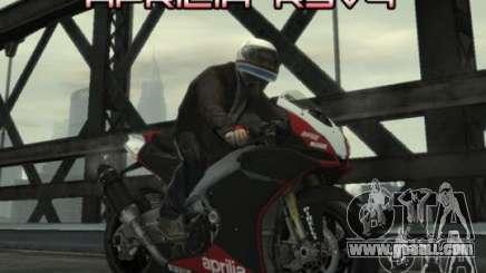 Aprilia RSV4 SBK for GTA 4