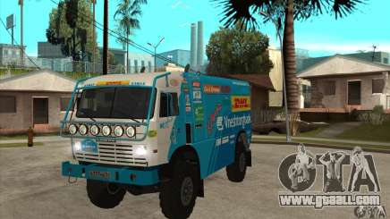 KAMAZ 4911 Rally MASTER for GTA San Andreas