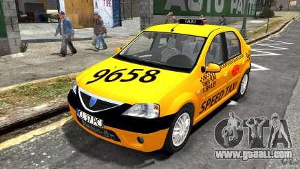 Dacia Logan Prestige Taxi for GTA 4