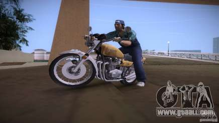 Kawasaki Z1 1975 for GTA Vice City