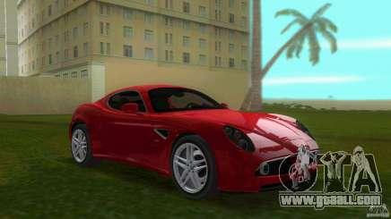 Alfa Romeo 8C for GTA Vice City