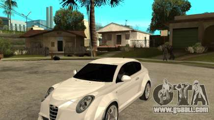 Alfa Romeo Mito for GTA San Andreas