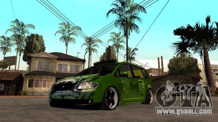Volkswagen Touran The Hulk for GTA San Andreas
