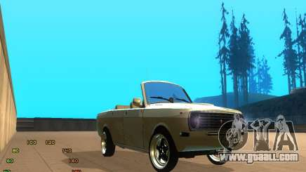 Gaz Volga 2410 el Cabrio for GTA San Andreas