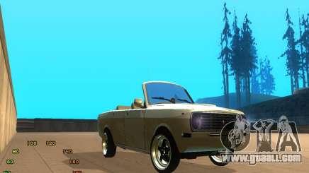 Gaz Volga 2410 el Cabrio for GTA San Andreas
