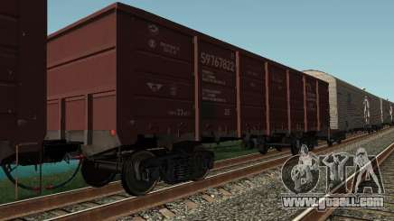 Open wagon cargo company for GTA San Andreas