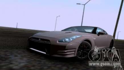 Nissan GTR R35 Tuneable for GTA San Andreas