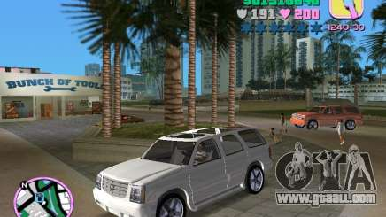 Cadillac Escalade for GTA Vice City