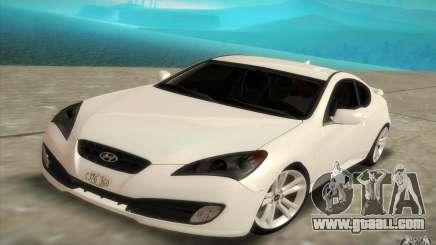 Hyundai Genesis 3.8 Coupe for GTA San Andreas