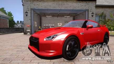 Nissan GTR R35 v1.0 for GTA 4