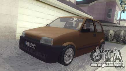 Fiat Cinquecento for GTA San Andreas