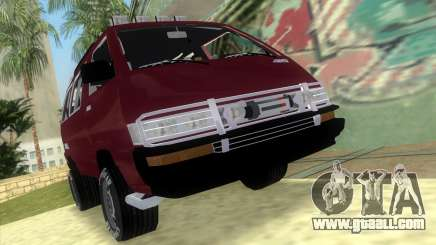 Toyota Town Ace-Tuning for GTA Vice City