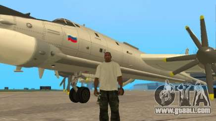 Tu-95 for GTA San Andreas