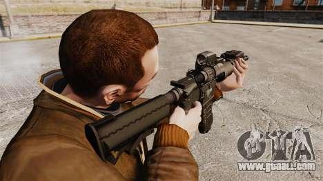 Tactical M4 v3 for GTA 4 second screenshot
